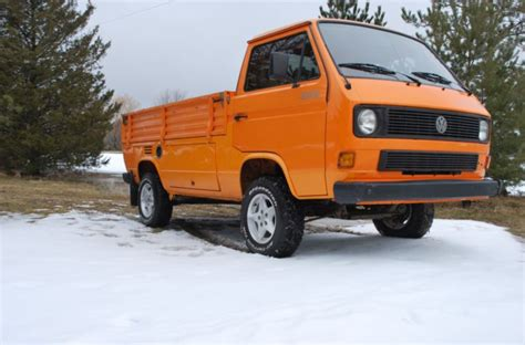 Volkswagen Cab For Sale by 1990 Volkswagen Transporter Single Cab Turbo Diesel