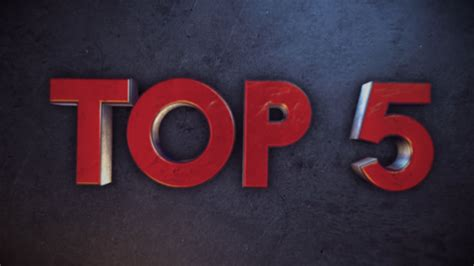 lomonox top 5 best text top 5 free 3d countdown template after effects free