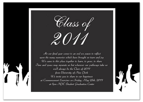 free graduation invitation templates for word cheap graduation invitation announcement black