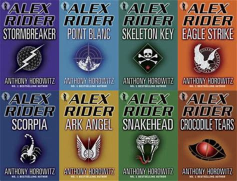 with the the s riders books alex rider book series