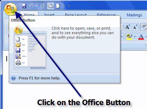 the microsoft 2007 version microsoft office word