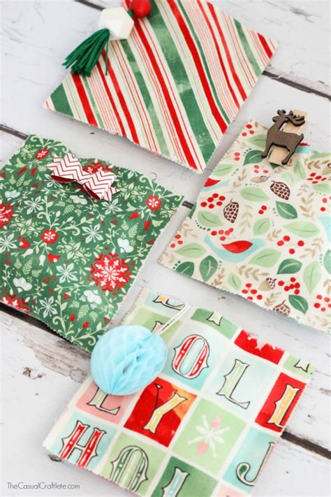 best 28 christmas gift bags to sew quick and easy