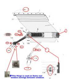 Carefree Of Colorado Awning Repair Parts Zip Dee Patio Parts Page