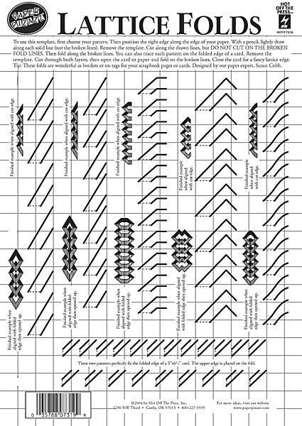 lattice card template dinglefoot s scrapbooking lattice folds template