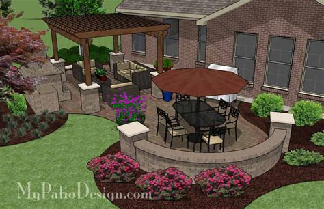 my patio design colorful and cozy outdoor living design patio plans ideas