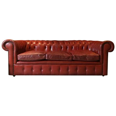 red leather settees antique style chesterfield sofa three seat settee red