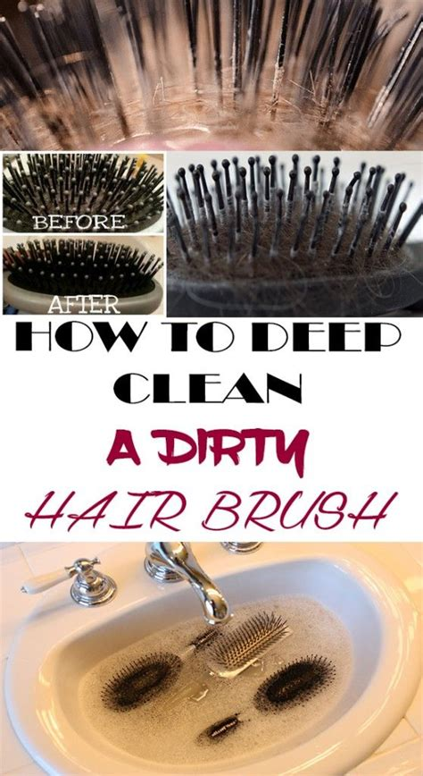 Cleaning Hair From 1000 ideas about clean hairbrush on clean