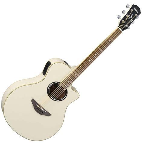 Spesifikasi Dan Harga Gitar Yamaha Apx 500 jual yamaha gitar akustik elektrik apx 500ii white