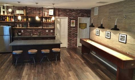 House Plans With Finished Walkout Basements barn lights lend urban chic to basement reno blog