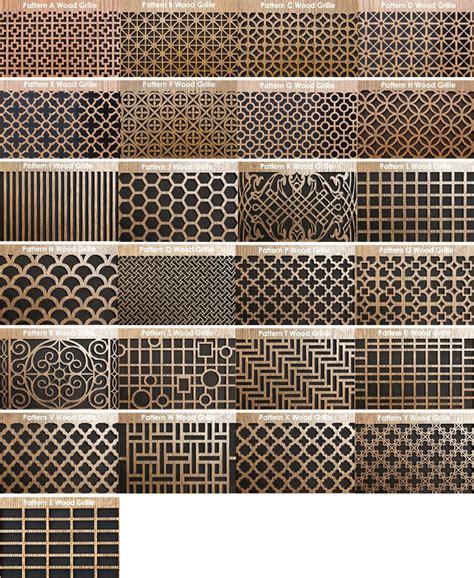 Brass Kitchen F round air vent wood return air grill