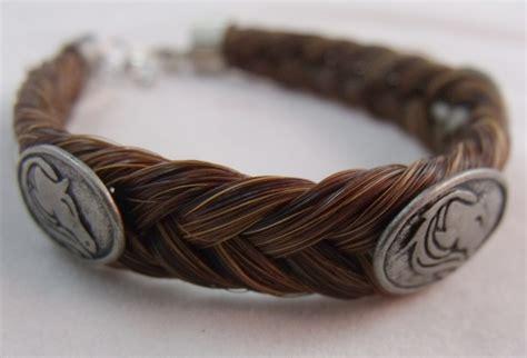 how to make hair jewelry horsehair bracelet flowing design horsehair