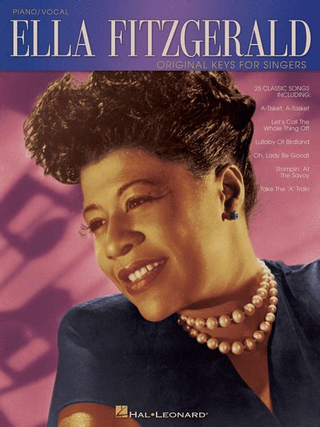 song ella fitzgerald ella fitzgerald sheet by ella fitzgerald sheet