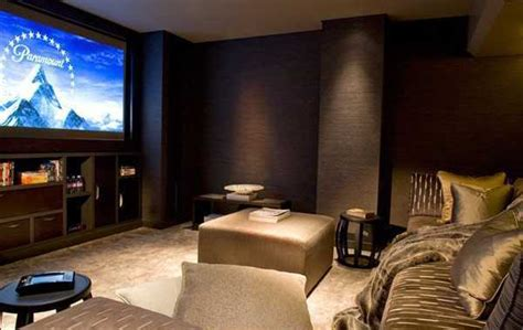 25 gorgeous interior decorating ideas for your home theater or media room