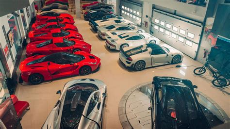 private supercar collection  bahrain boasts ultra rare