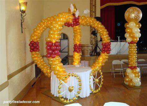 quinceanera balloon decor   San Jose Party Decorations