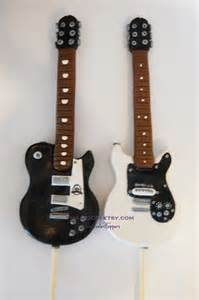 gallery for gt electric guitar cake topper