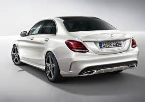2015 mercedes c class amg line revealed
