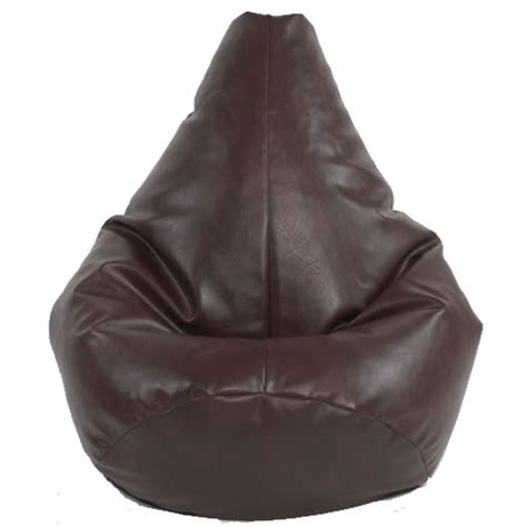 gaming bean bag recliner faux leather xl kids highback dark brown faux leather bean bag chair