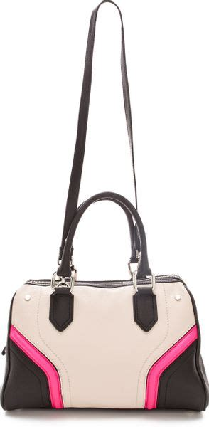 Zoey Bag Pink milly zoey satchel in pink lyst