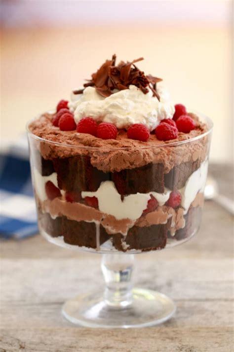 chocolate raspberry recipes chocolate raspberry trifle recipes