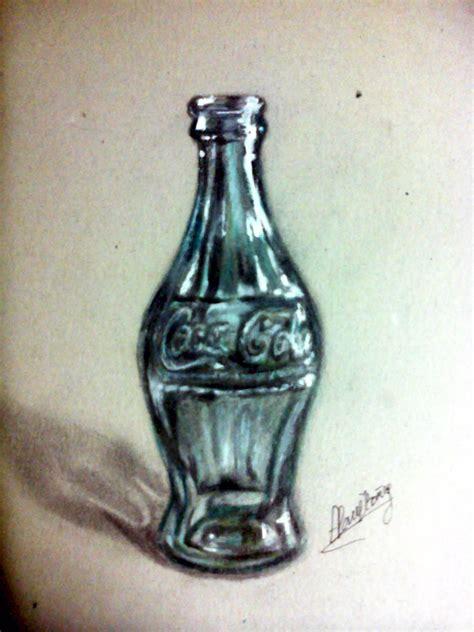 dibujos realistas botella botella de coca cola y depredador dibujos hechos por mi