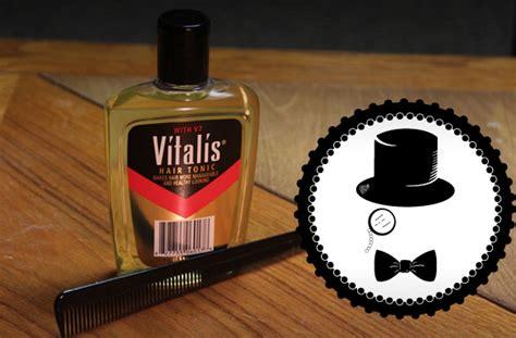 Parfum Vitalis Botol cascading style vitalis hair tonic review geeky gentleman