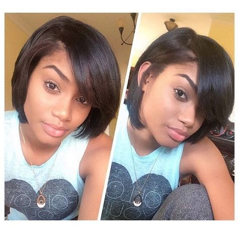 hairstyles for short relaxed hair 10 best images about natural hair styles on pinterest