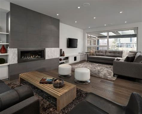Studio Apartment Decorating by Grey Family Room Home Design Ideas Pictures Remodel And