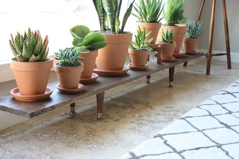 plant bench indoor enjoy it by elise blaha cripe diy wooden plant stand