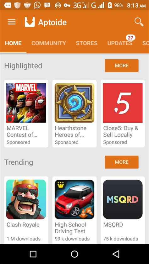 aptoide best games aptoide apk the best alternative to play store 9ja