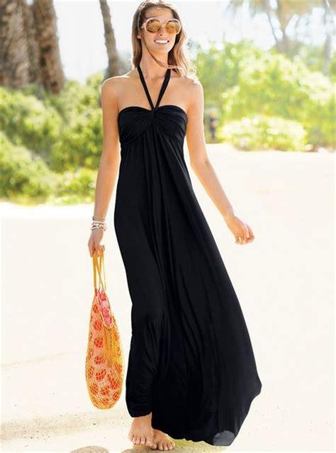 secret maxi s secret maxi bra top dress in black lyst