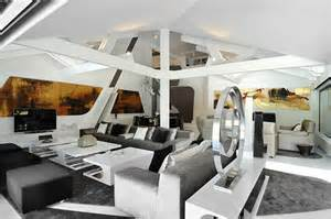 Sci Fi Home Decor by Two Story House In Madrid Integrating Cool Sci Fi Elements