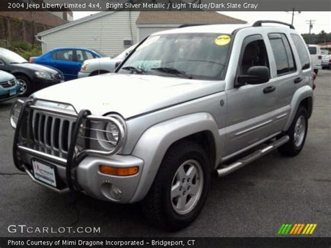 2004 Jeep Liberty Limited Bright Silver Metallic 2004 Jeep Liberty Limited 4x4