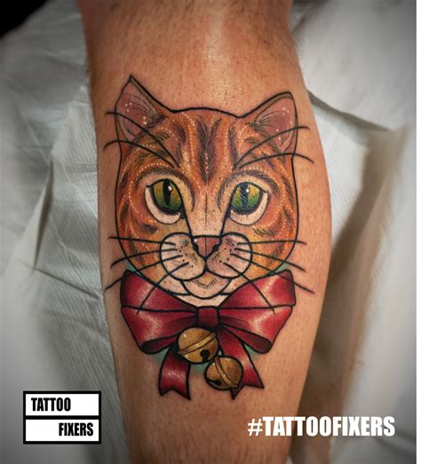tattoo fixers cat face tattoo fixers e4 on twitter quot owen s festive