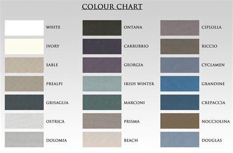 the gallery for gt ivory colour chart