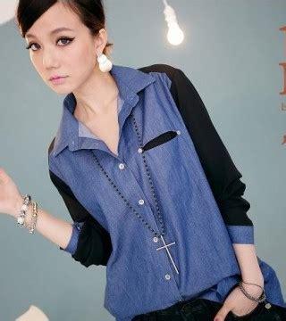 Legging Salur Lingkar Pinggang 44cm Panjang Celana 58 Cm kemeja wanita import denim sifon panjang model terbaru