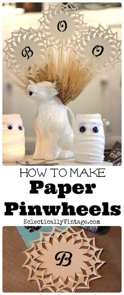 How To Make Pinwheels Out Of Paper - how to make paper pinwheels