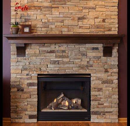 Handmade Fireplaces - fireplace mantel with corbels with custom crown made of