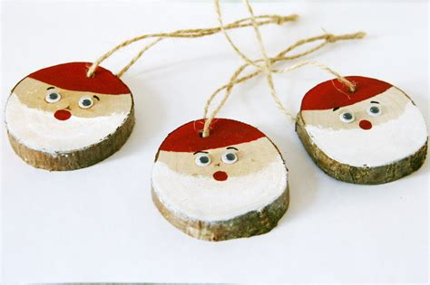 Handmade Wooden Decorations - tree decorations handmade wood tree