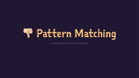 pattern matching failed ocaml the next great functional programming language