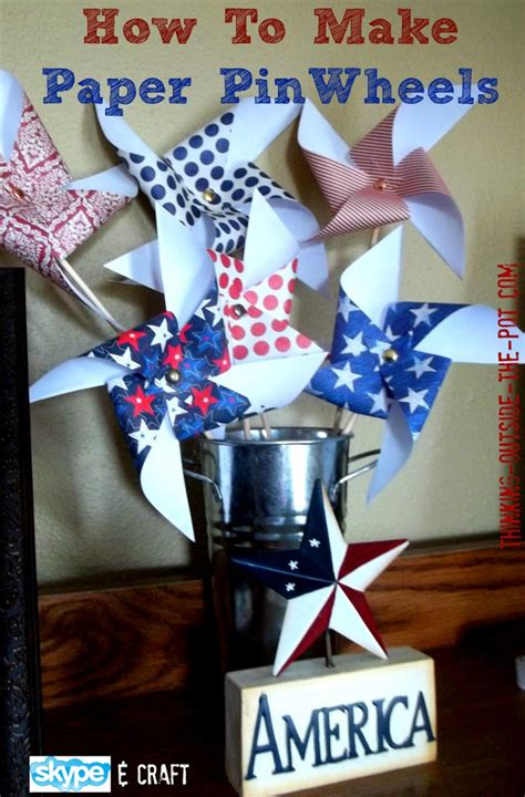How To Make Pinwheels Out Of Paper - how to make paper pinwheels blogher