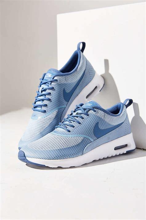 air max thea sneaker lyst nike air max thea textile sneaker in blue
