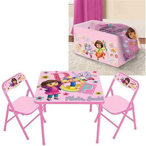 teen desk and chair set nickelodeon dora activity and chairs set w