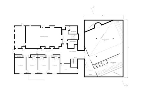 floor plan of a mosque room for prayer mosque and cultural center studio 214