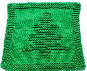 knitting cloth pattern christmas tree pfd