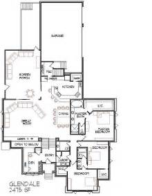 Floor Plans For Narrow Lots Large 6 Bedroom Bungalow 10000 Sf One Storey Dream House