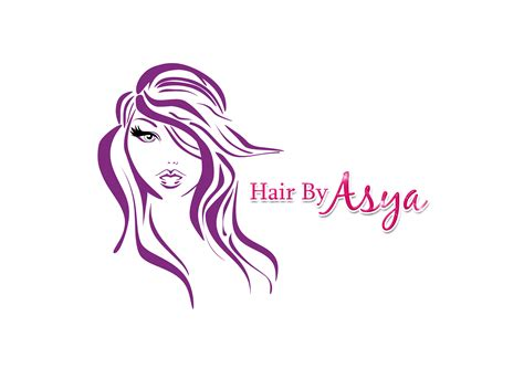 design logo hair salon hair by asya logo paid png 2876 215 2084 mermaid club