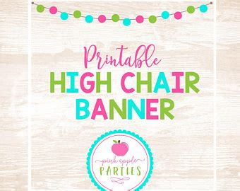 printable high chair banner printable high chair banner little man party collection
