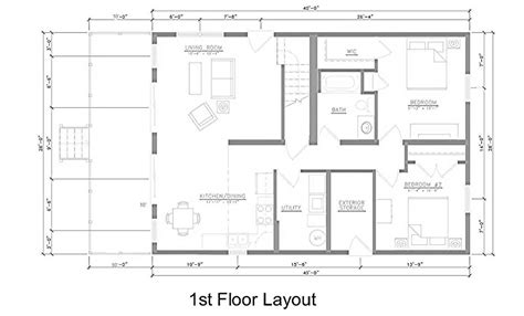 Dining Room Layout East Point Villas Middle Bass Island
