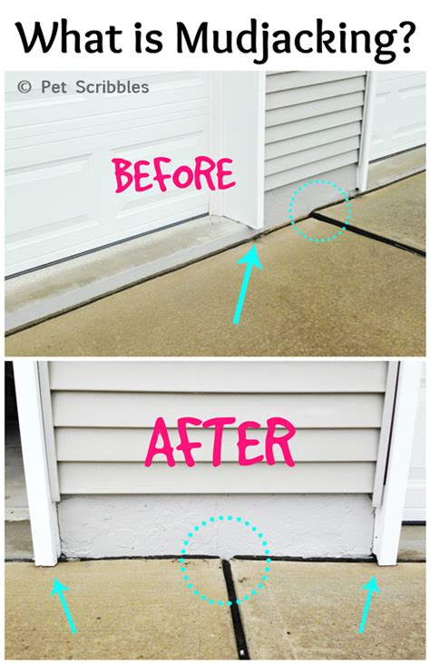 how to fix a sinking front porch mudjacking is a way to raise sinking concrete driveways